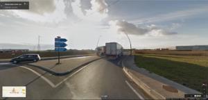 lampadaires | Artenay, près de l'autoroute A10